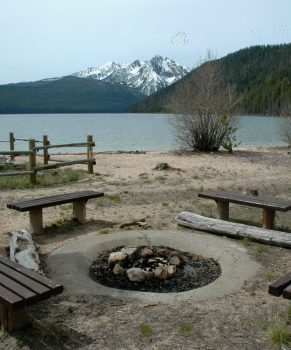 Redfish Lake Point Beach